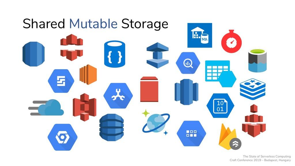 Shared Mutable Storage The State of Serverless ...