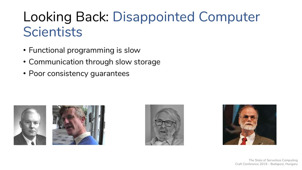 Looking Back: Disappointed Computer Scientists ...