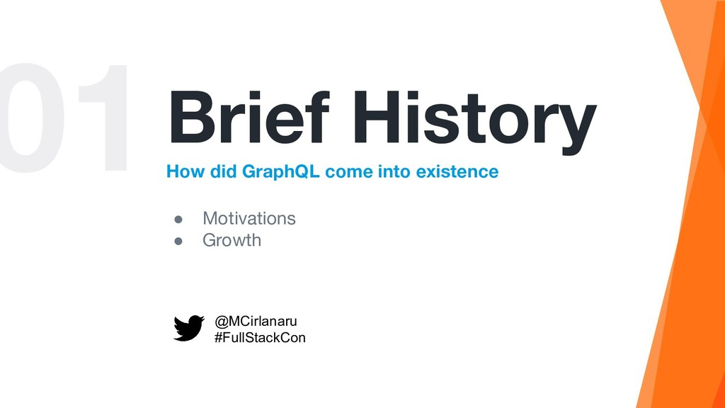 01Brief History How did GraphQL come into exist...