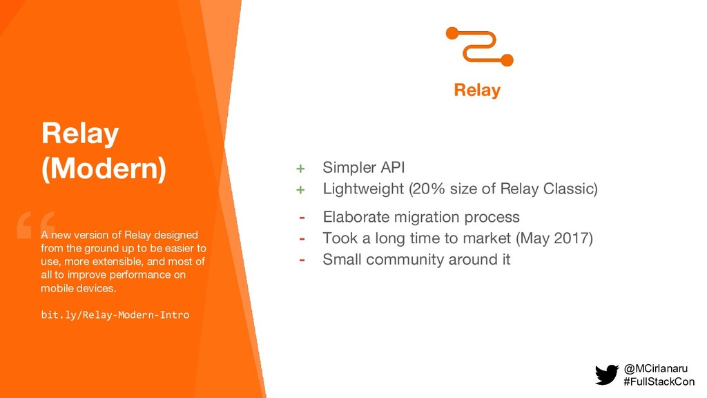 Relay (Modern) A new version of Relay designed ...