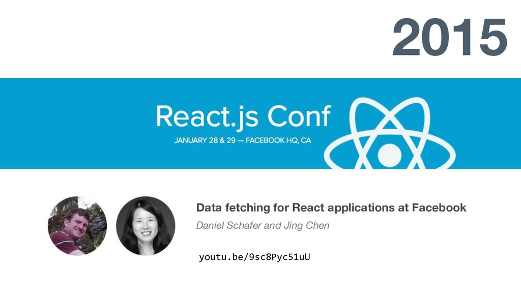 Data fetching for React applications at Faceboo...