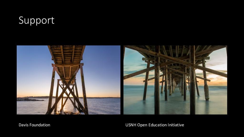 Support Davis Foundation USNH Open Education In...