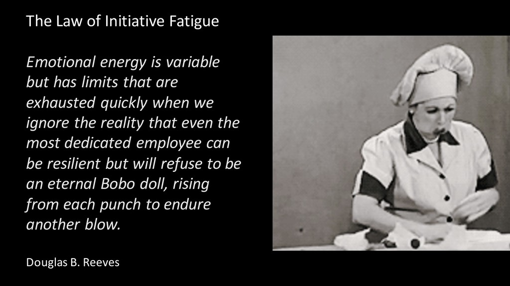 The Law of Initiative Fatigue Emotional energy ...