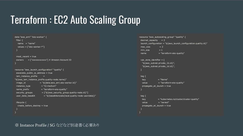 "Terraform : EC2 Auto Scaling Group data ""aws_am..."