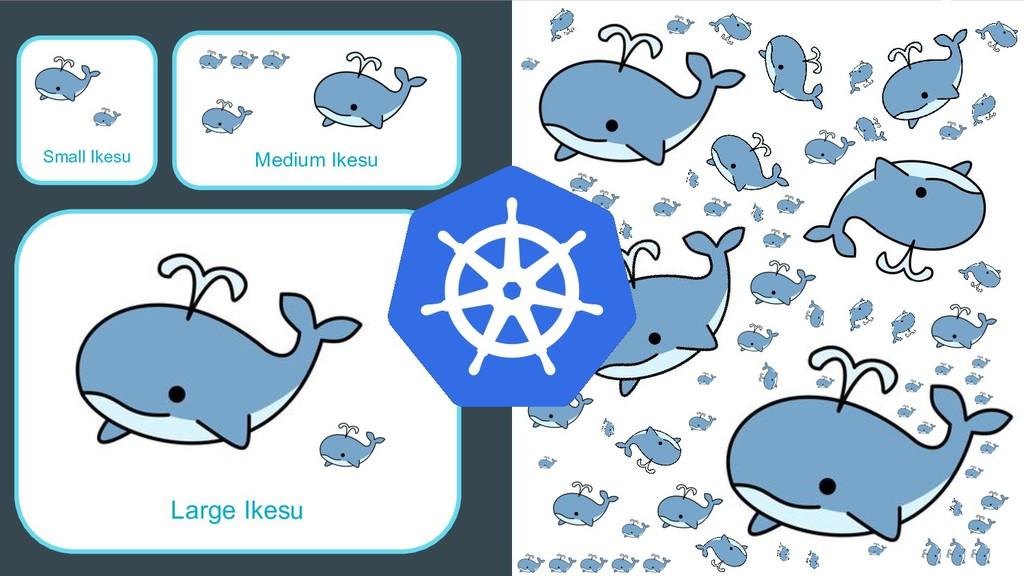 Small Ikesu Large Ikesu Medium Ikesu