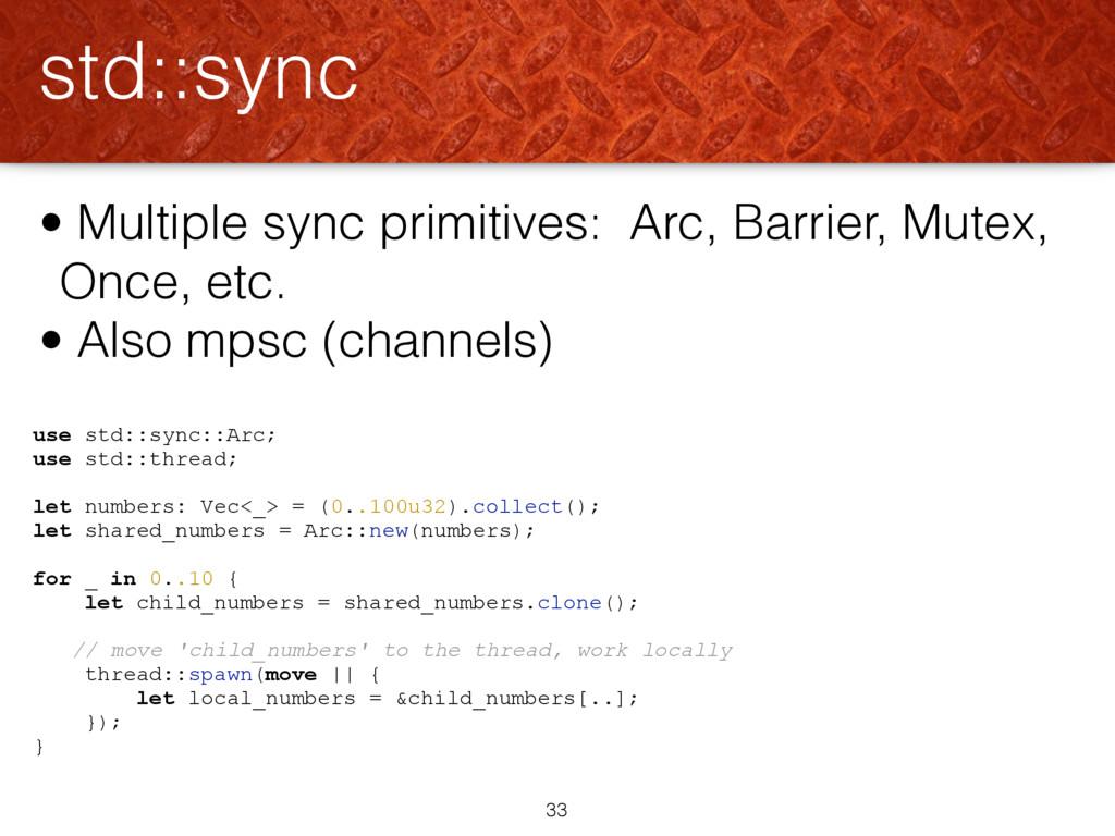 use std::sync::Arc; use std::thread; let number...
