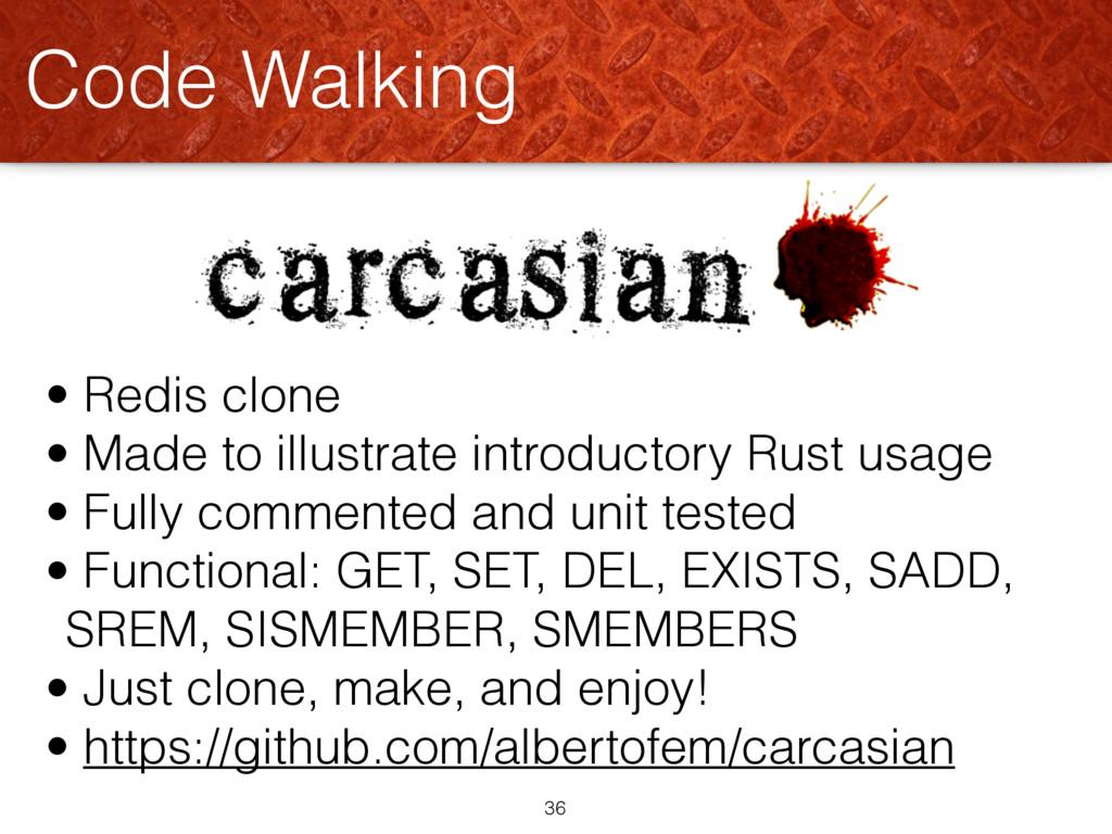 Code Walking 36 • Redis clone • Made to illustr...