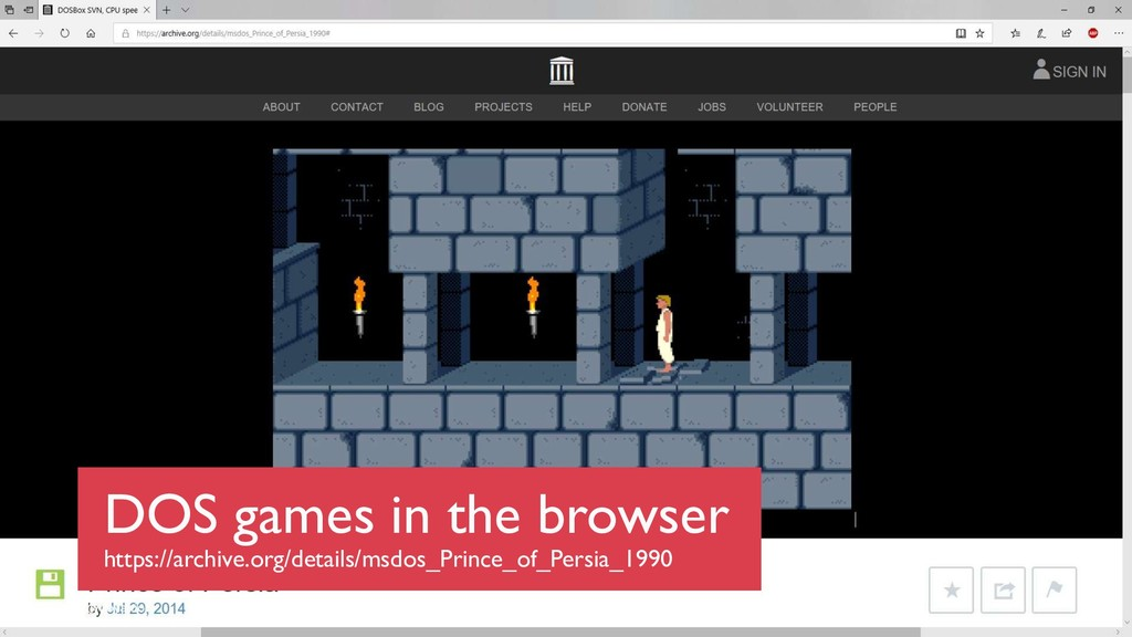 @boyanio DOS games in the browser https://archi...