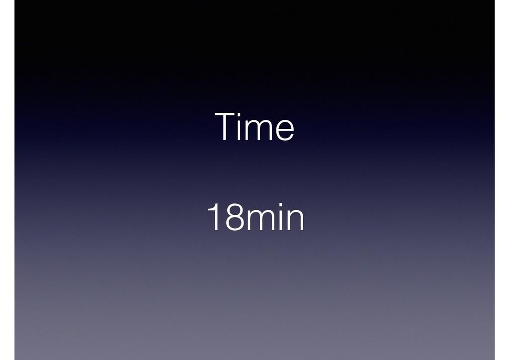 Time 18min