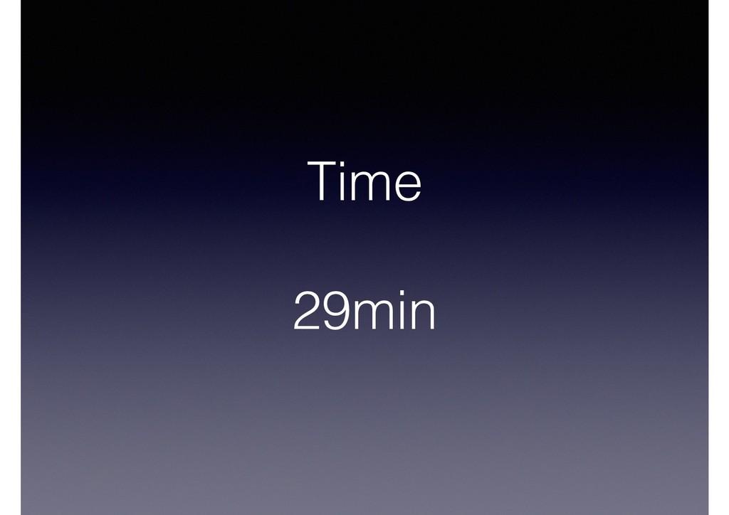 Time 29min