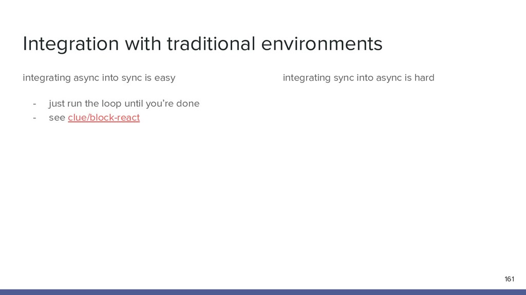 Integration with traditional environments 161 i...