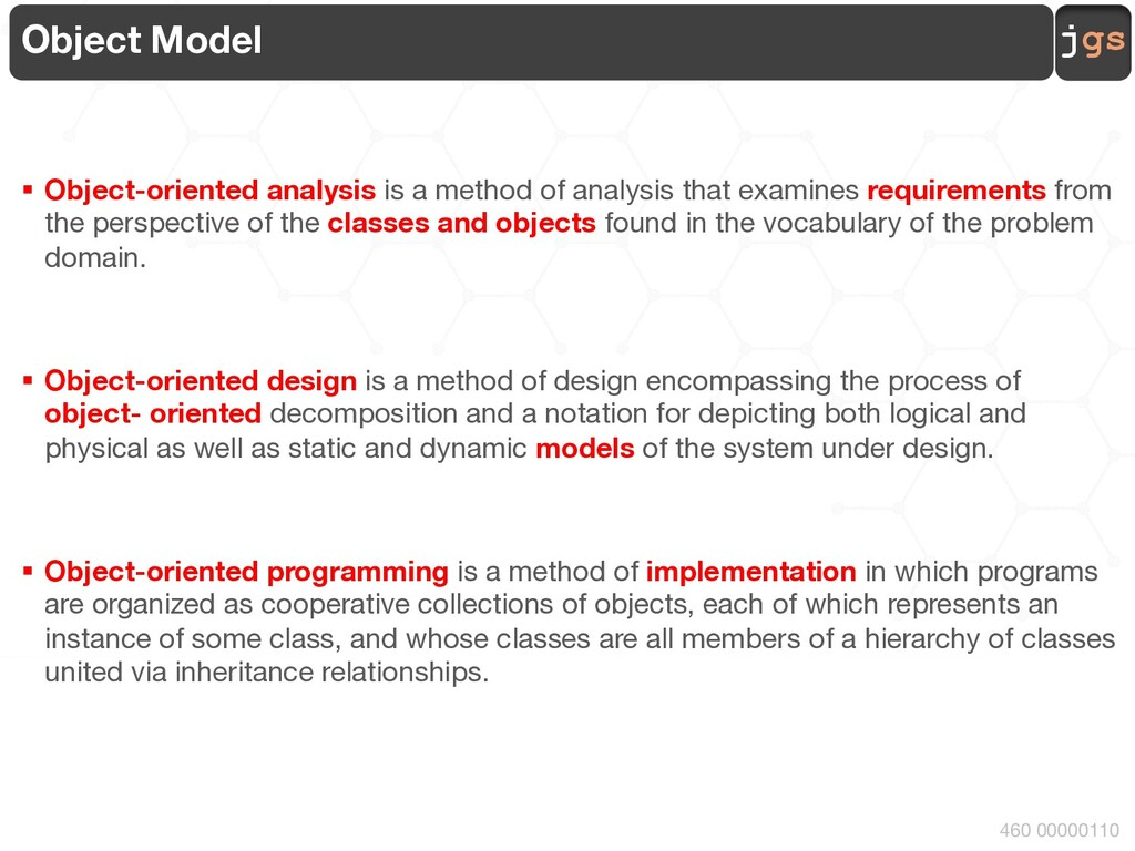 jgs Requirements Analysis