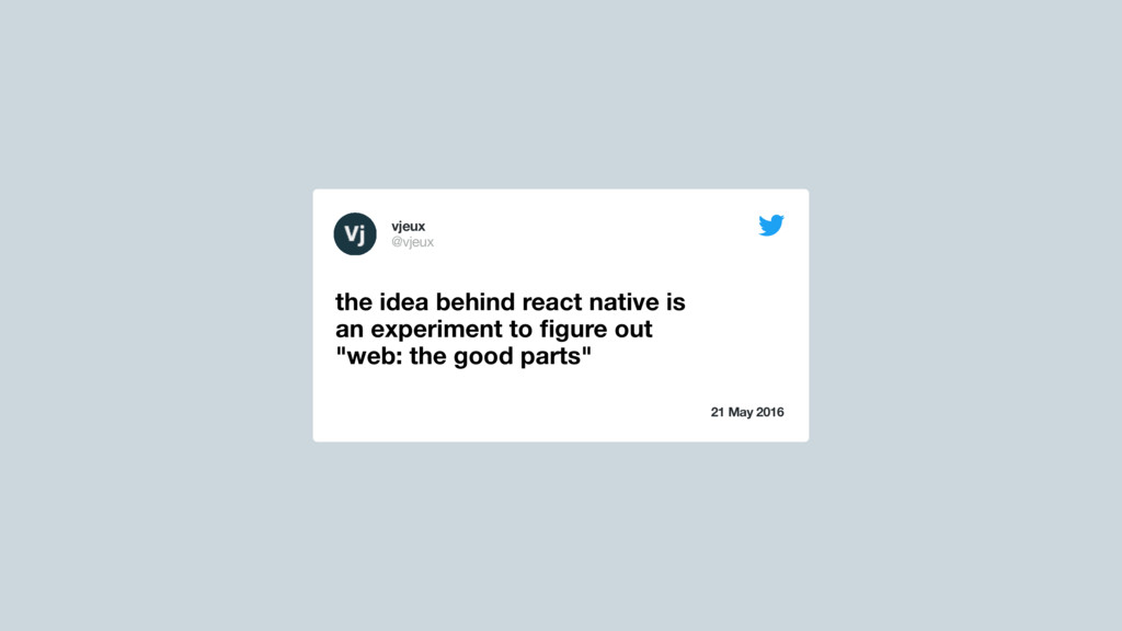 21 May 2016 the idea behind react native is an ...
