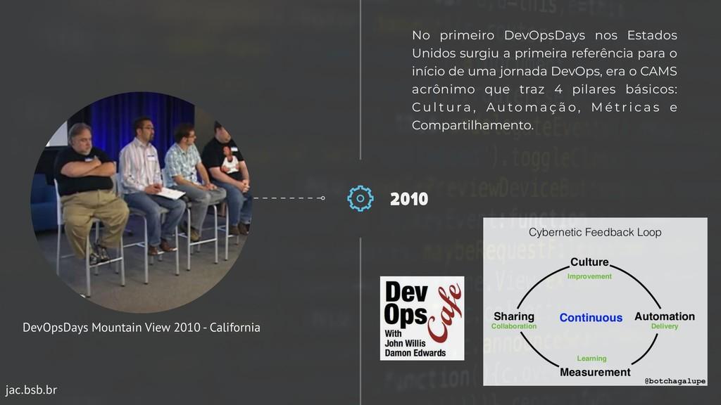 jac.bsb.br 2010 No primeiro DevOpsDays nos Esta...