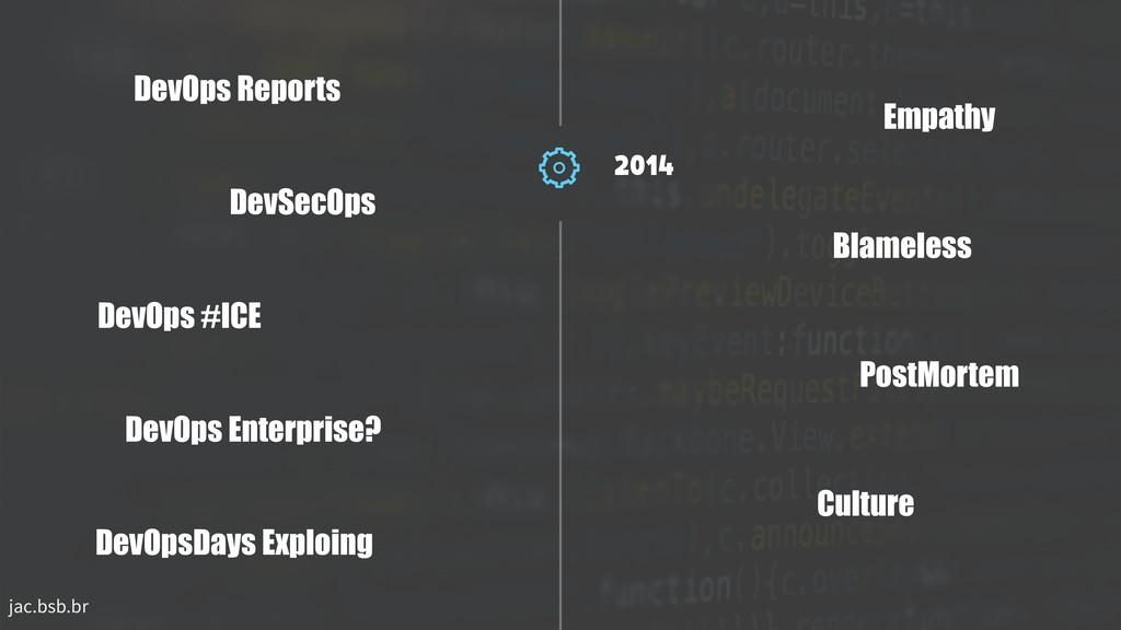 jac.bsb.br 2014 DevOps Reports DevSecOps DevOps...
