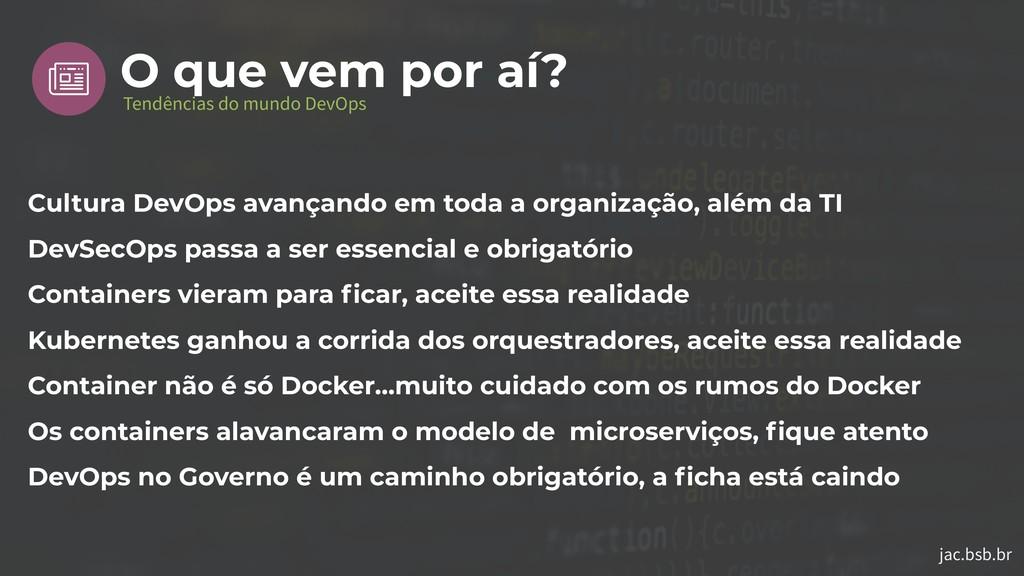 jac.bsb.br Cultura DevOps avançando em toda a o...