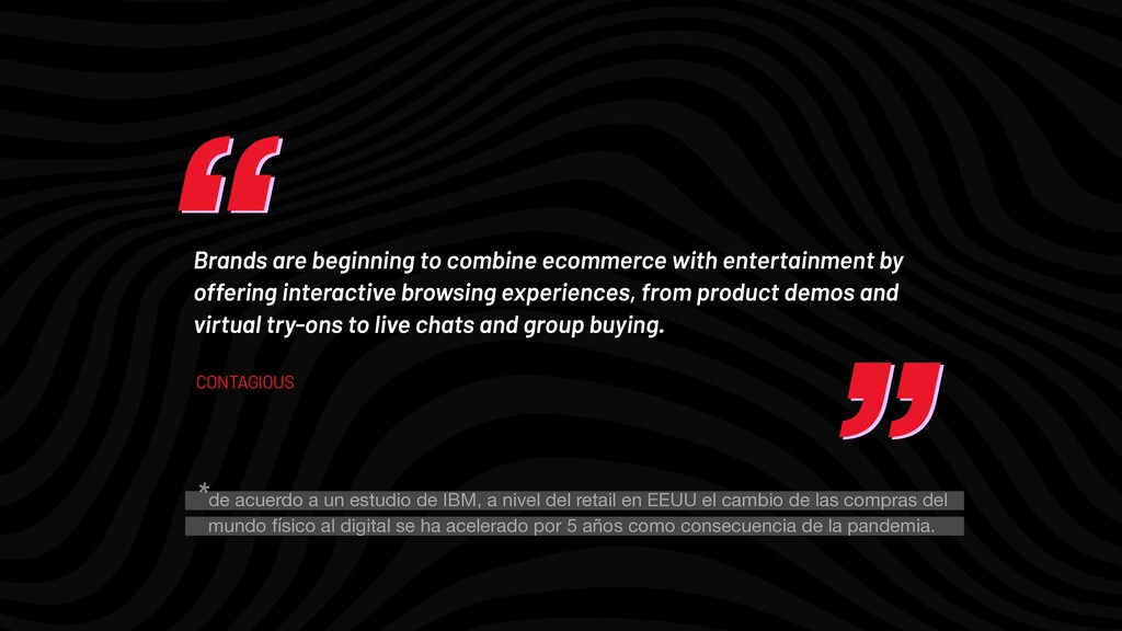 """"""" """" """" """" Brands are beginning to combine ecommer..."""
