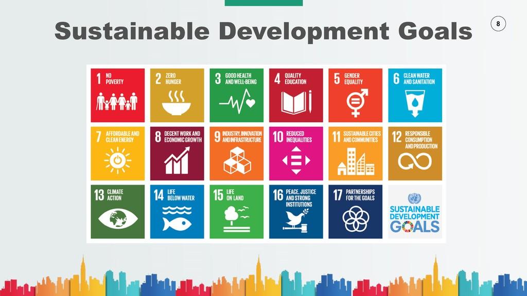 8 Sustainable Development Goals