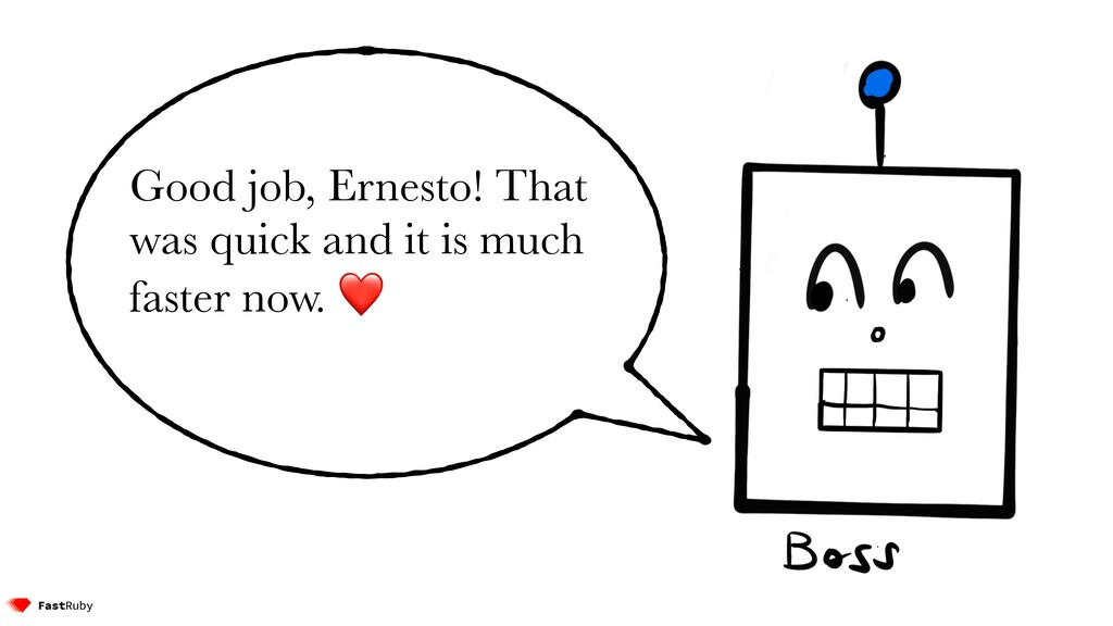 Good job, Ernesto! That was quick and it is muc...