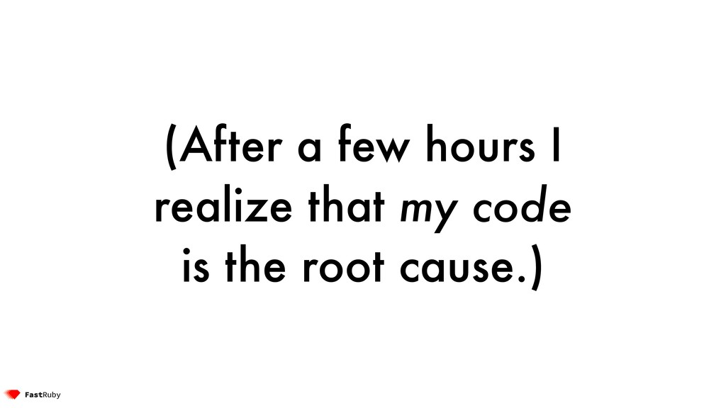 (After a few hours I realize that my code is th...