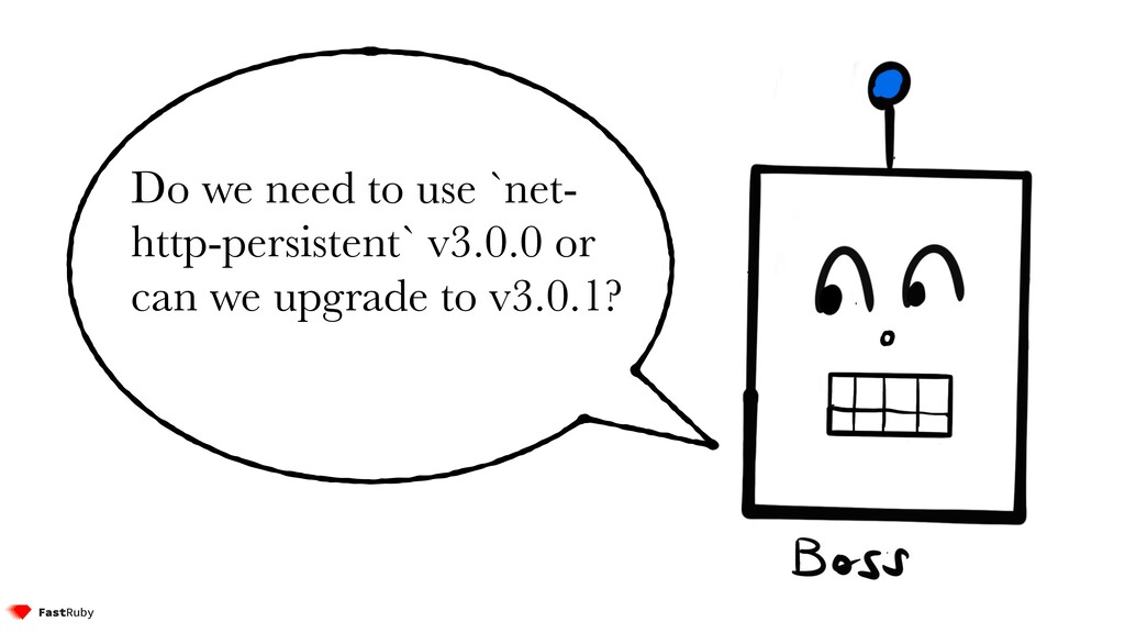 Do we need to use `net- http-persistent` v3.0.0...