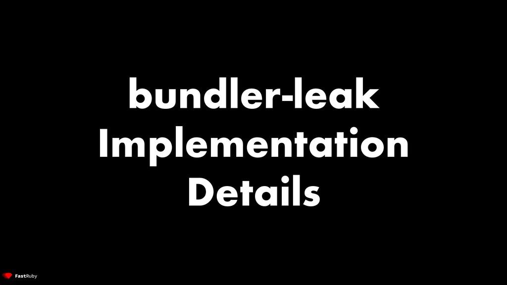 bundler-leak Implementation Details
