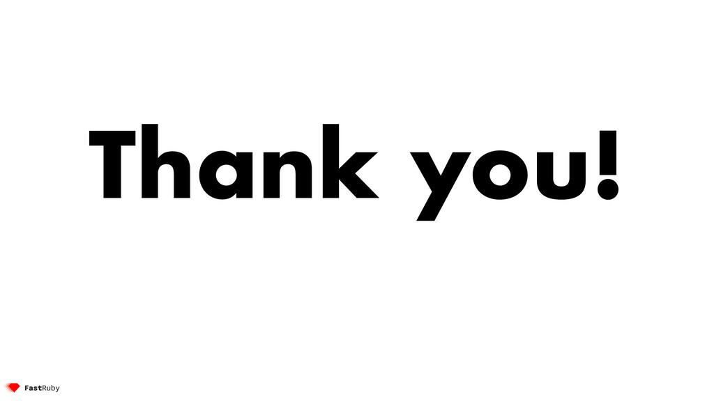 Thank you! @etagwerker 98 Thank you!