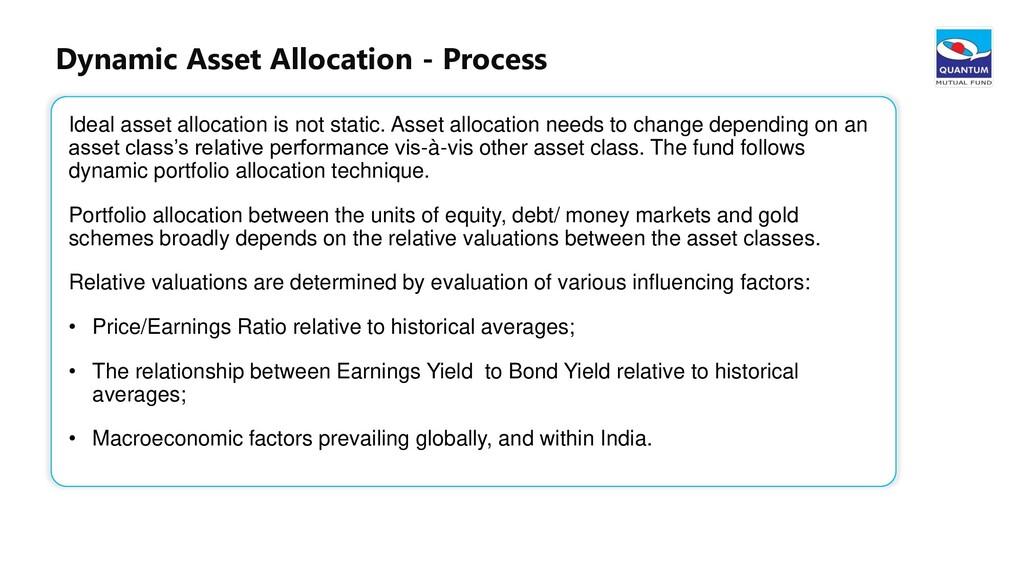 24 Dynamic Asset Allocation - Process Ideal ass...