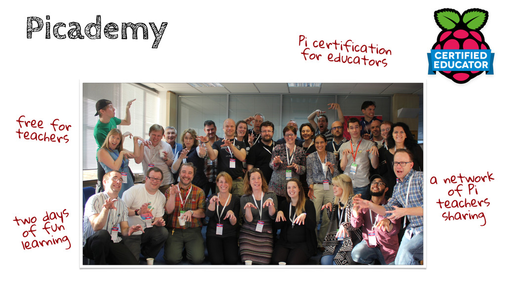 Picademy free for teachers two days of fun lear...