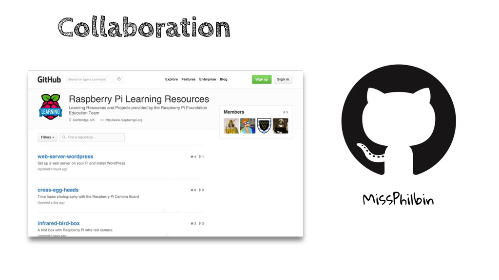 Collaboration MissPhilbin