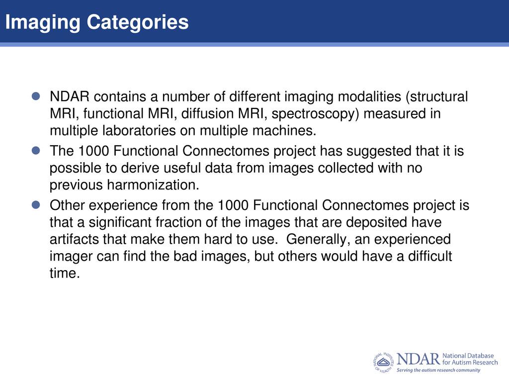 6 Data Structures | Data Elements  NDAR contai...