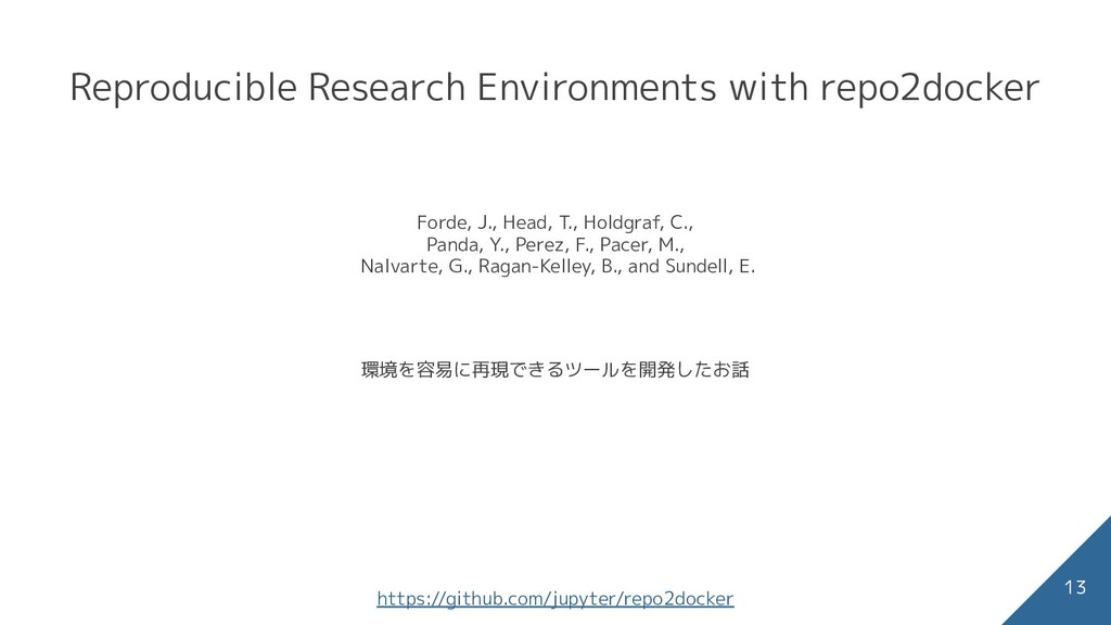 Reproducible Research Environments with repo2do...