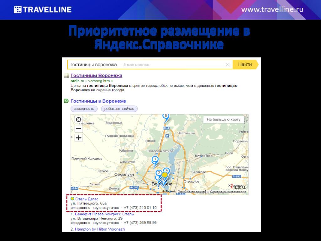 Приоритетное размещение в Яндекс.Справочнике