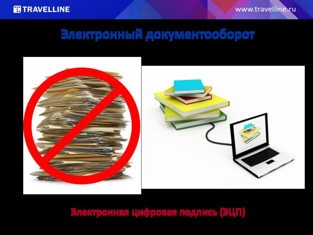 Электронный документооборот Электронная цифрова...