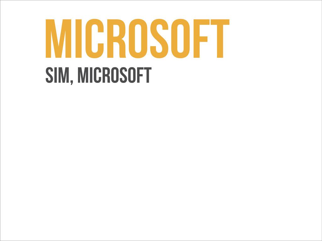 Microsoft sim, microsoft