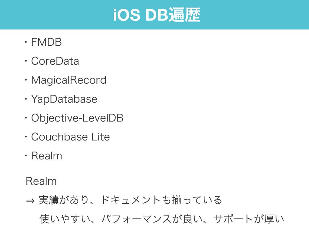 iOS DBวྺ ɾ'.%# ɾ$PSF%BUB ɾ.BHJDBM3FDPSE ɾ:B...