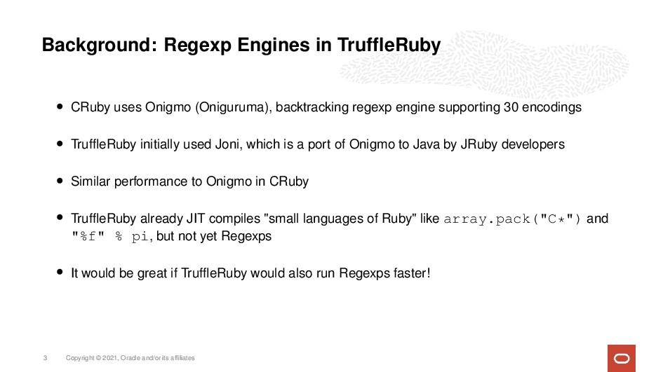 Background: Regexp Engines in TruffleRuby • CRub...