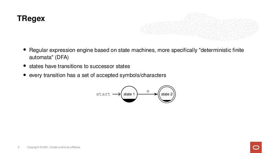 TRegex • Regular expression engine based on sta...