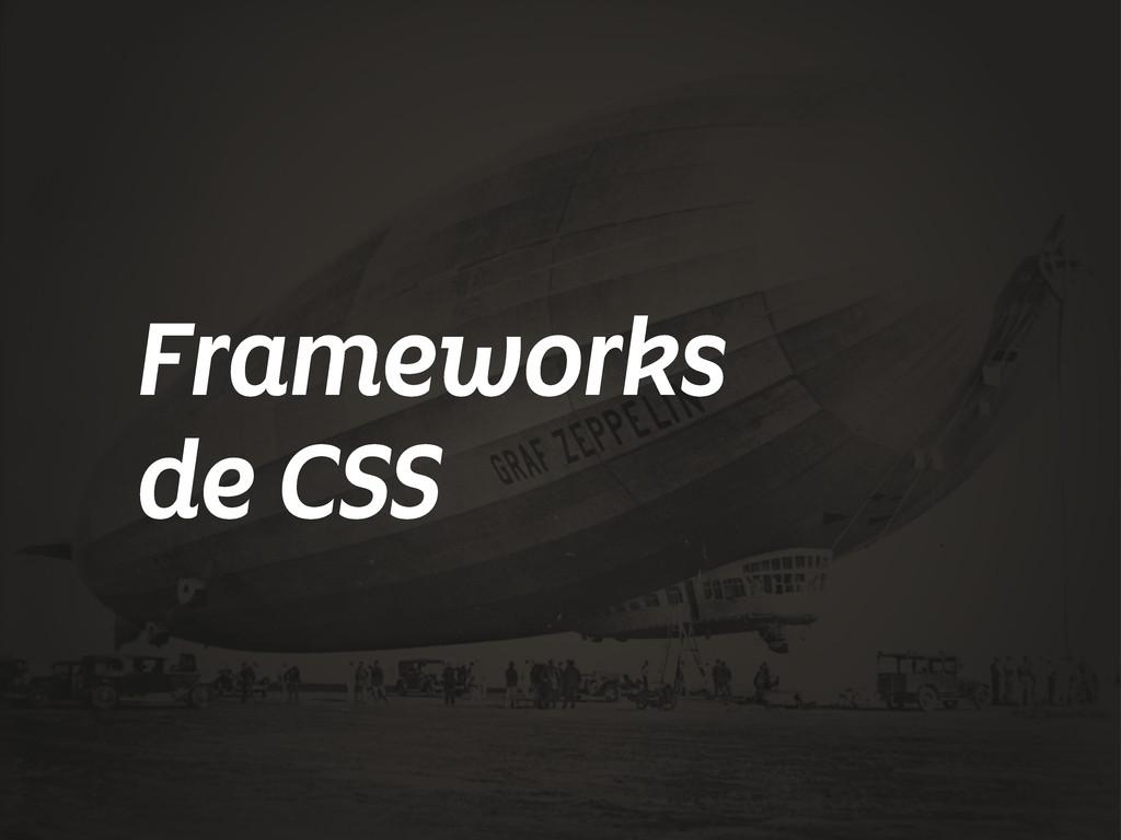 Frameworks de CSS