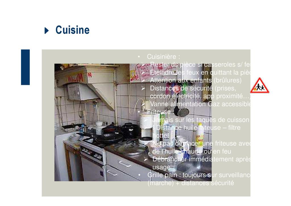Cuisine • Cuisinière : Rester ds pièce si casse...