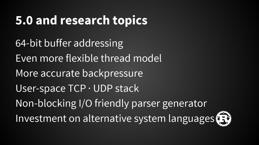 5.0 and research topics 64-bit buffer addressin...