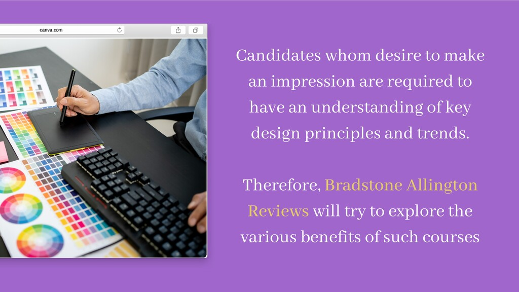 Candidates whom desire to make an impression ar...
