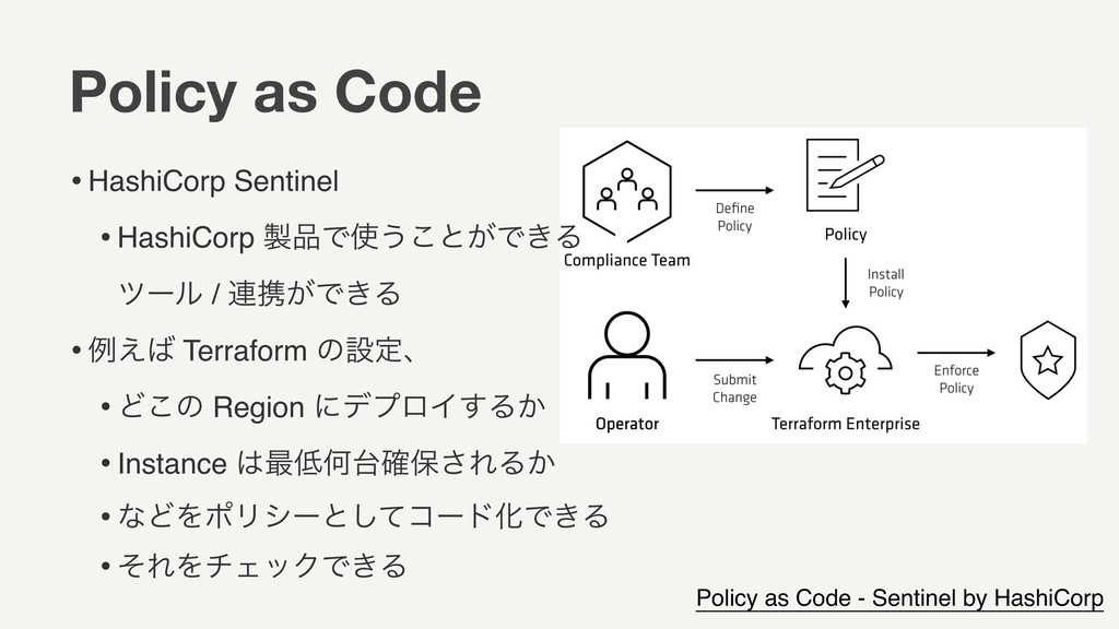 Policy as Code Policy as Code - Sentinel by Has...