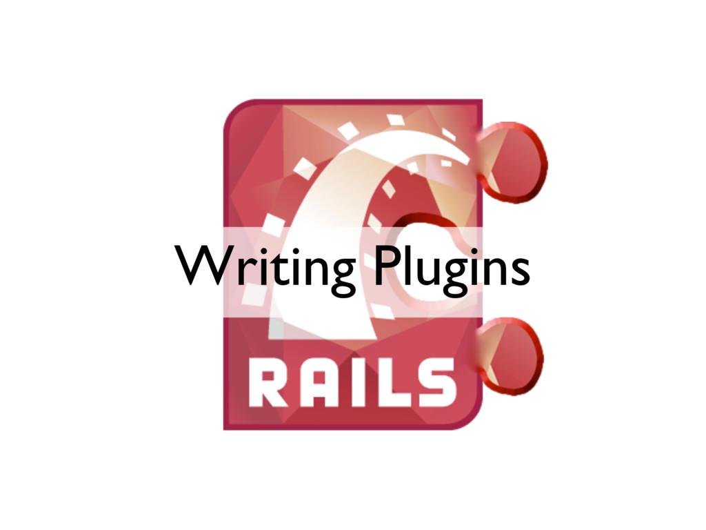 Writing Plugins