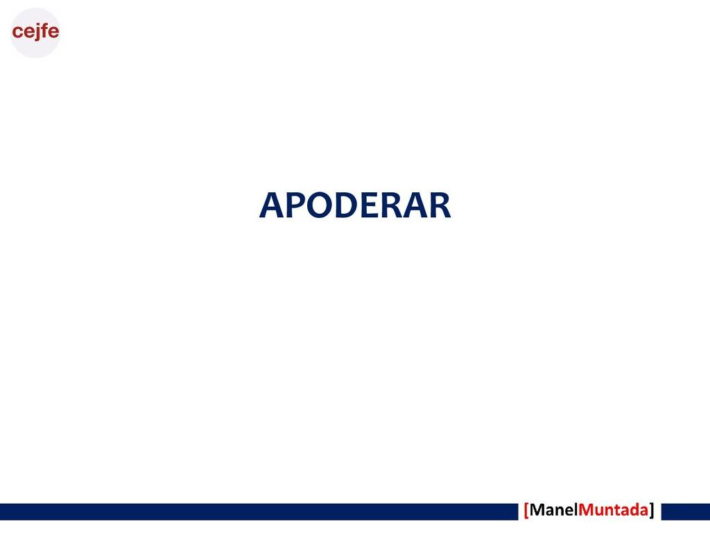 APODERAR