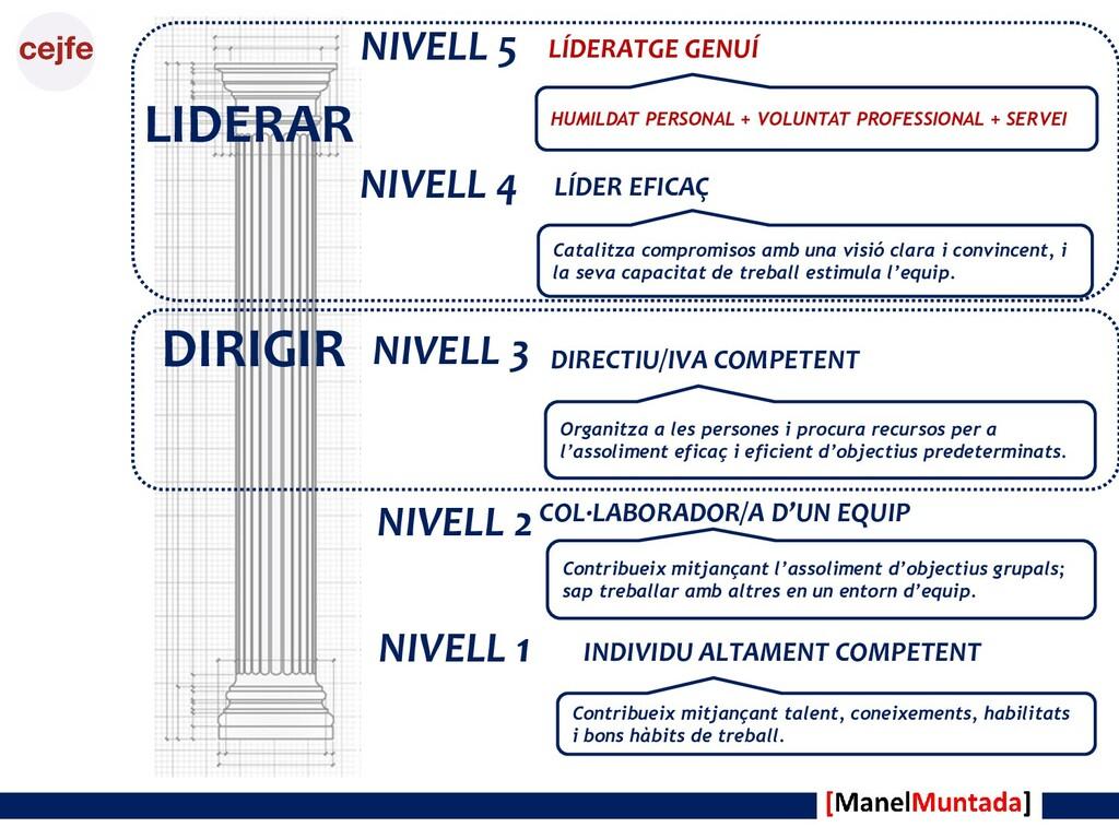 DIRIGIR LIDERAR NIVELL 1 INDIVIDU ALTAMENT COMP...