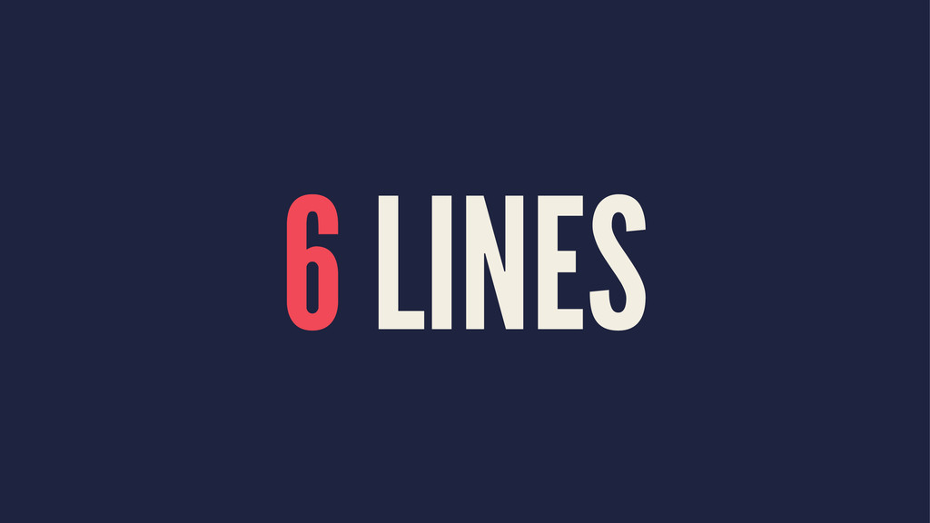 6 LINES