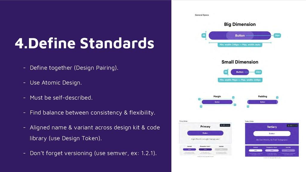 4.Define Standards - Define together (Design Pa...