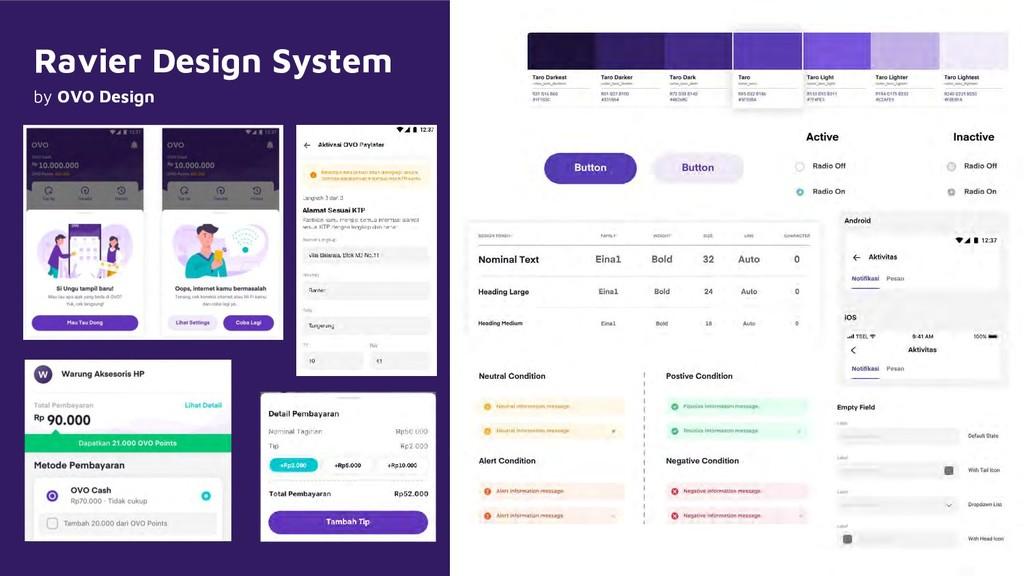 Ravier Design System by OVO Design