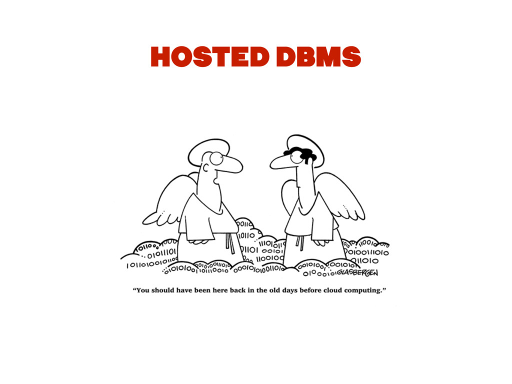 HOSTED DBMS